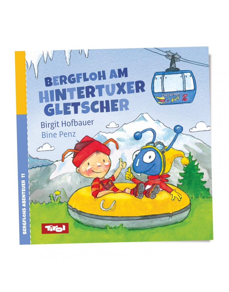 Bergfloh trifft Gletscherfloh am Hintertuxer Gletscher. Der zeigt ihm sein cooles Wohnzimmer im ewigen Eis. Ein kühles Wintererlebnis im heißen Sommer!