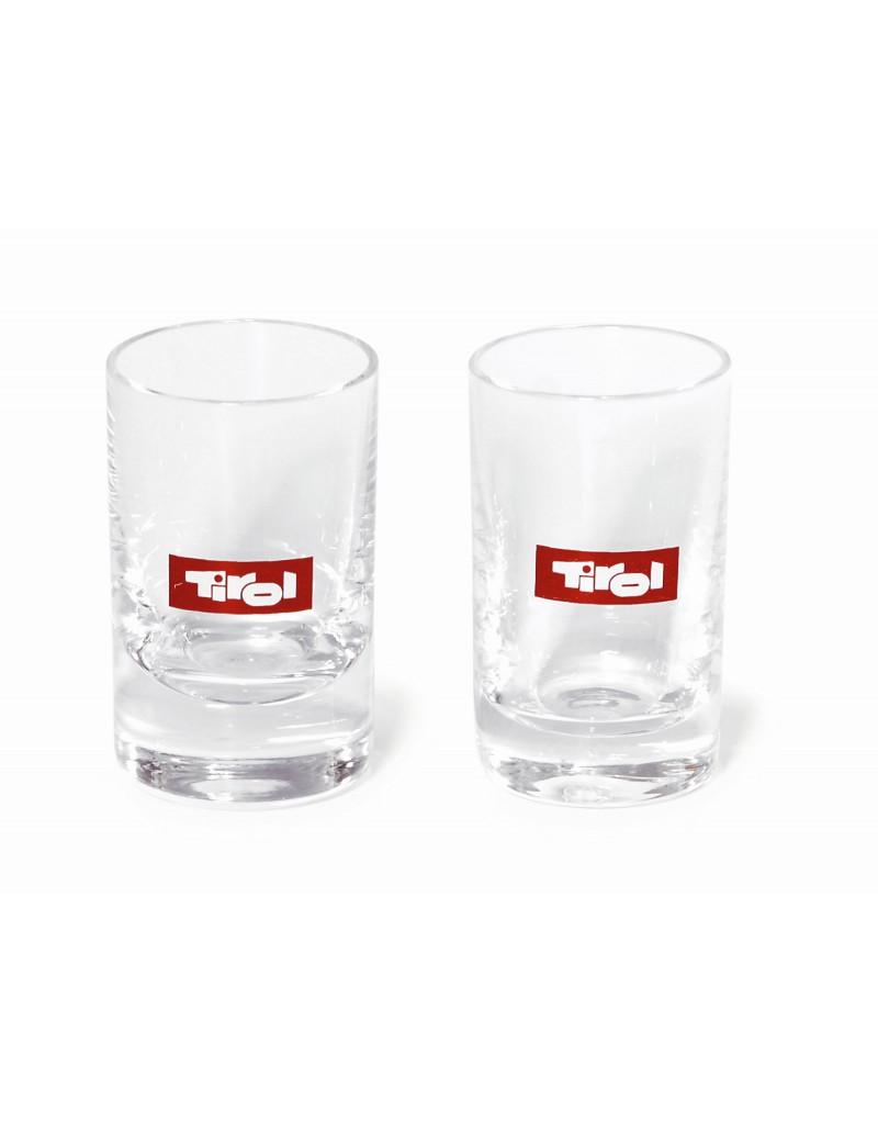 Das ideale Geschenk für Tirol-Liebhaber. Trinke deinen Schnaps aus Tiroler Schnappsgläser.