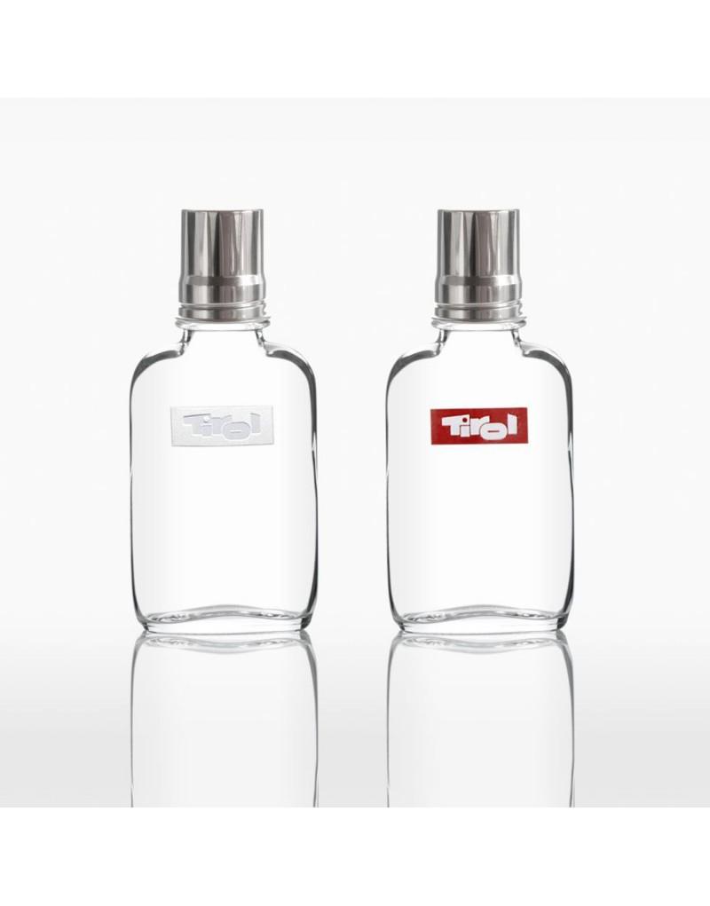 Das ideale Geschenk für Tirol-Liebhaber. Schenke ein Flachmann aus Kisslinger Glas.