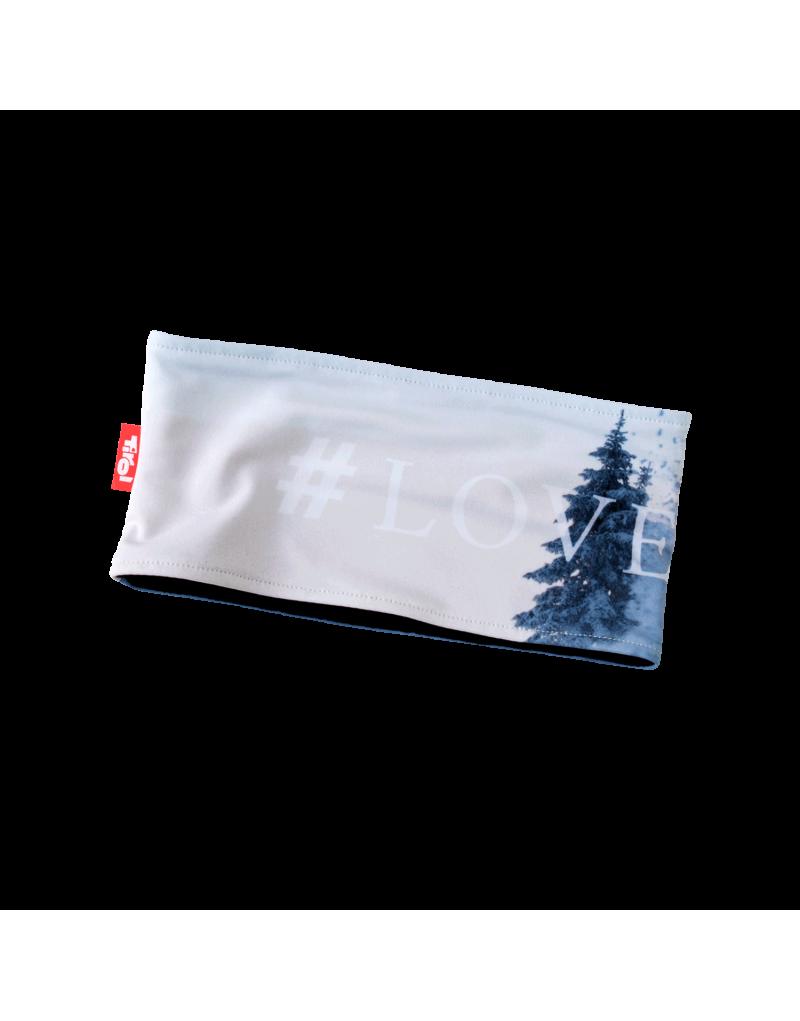 """Das hochwertige Stirnband """"Sebi"""" aus der aktuellen Tirol-Kollektion ist ideal für Sportlerinnen, die auch im Winter viel im Freien unterwegs sind. Durch den Materialmix aus 81% Polyester und 19% Elastan überzeugt das Stirnband durch hohen Tragekomfort und Top-Qualität.   Das Inlay dieses funktionellen Accessoires besteht aus 100% Polypropylen. Damit hält das Stirnband warm, ist aber trotzdem atmungsaktiv.    Praktisch und funktionell   Mit atmungsaktivem Inlay   Materialmix:81% Polyester und 19% Elastan"""