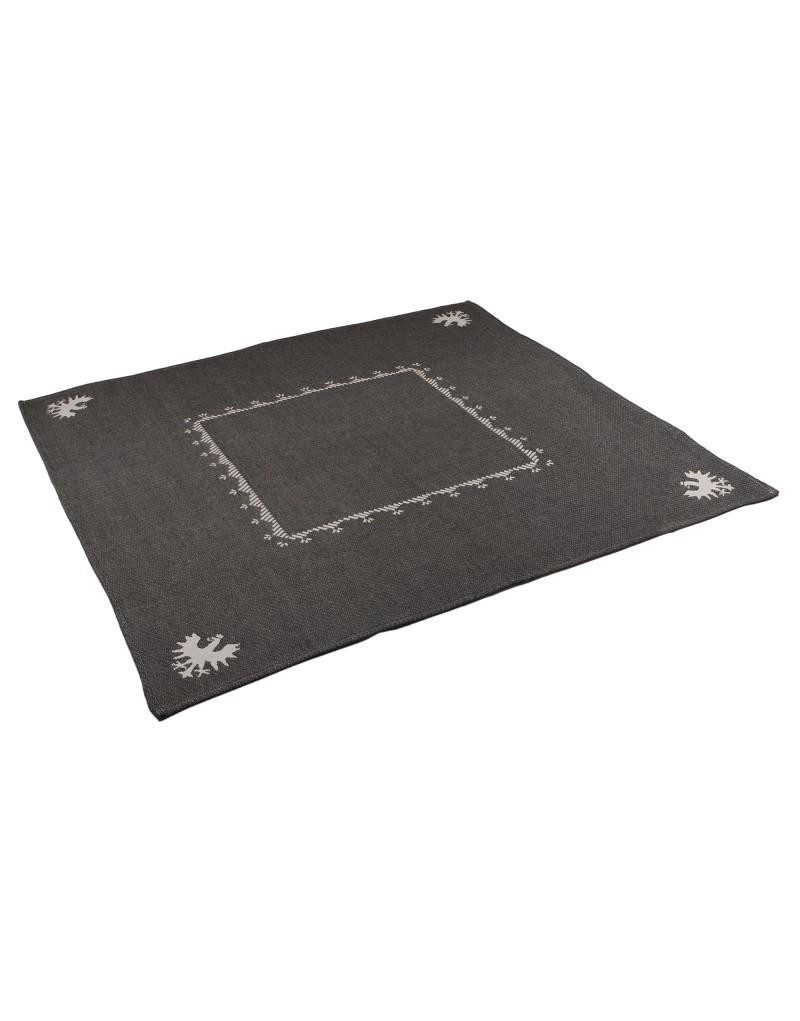 Made in Tirol   Material: 100% hochverzwirnte Baumwolle   geht bei Waschen 5-6% ein   Größe: 80 x 80 cm