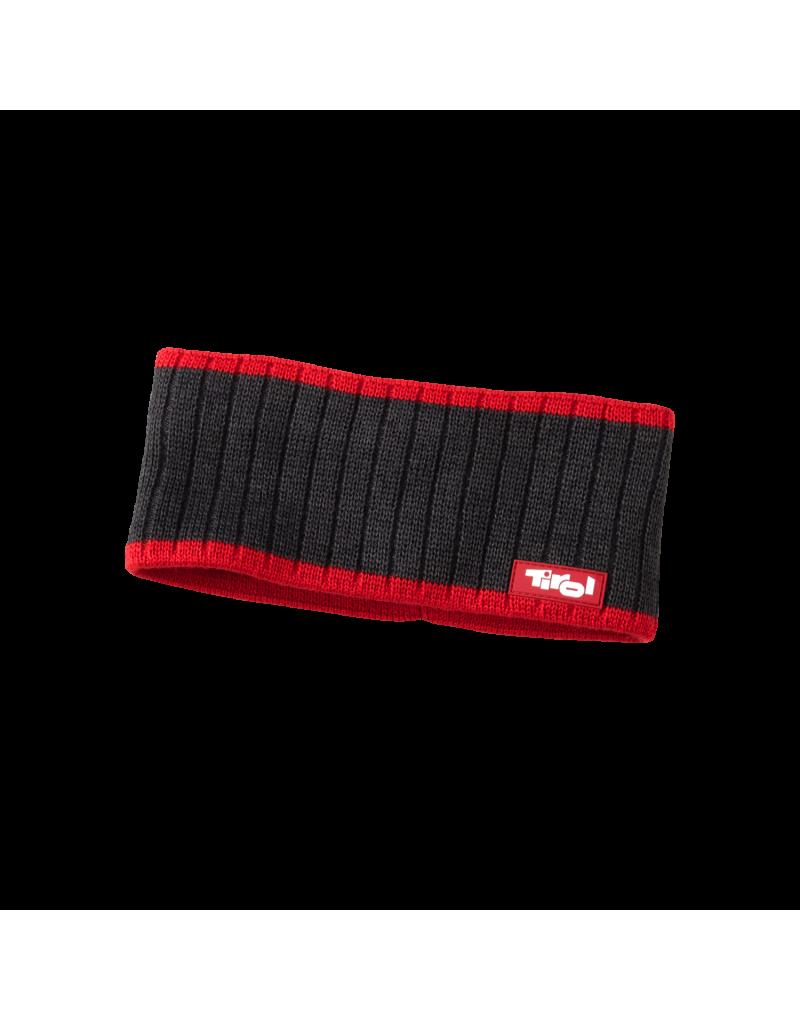 """Das kuschelig weiche Stirnband """"Luis"""" ist genau das Richtige für die kalten Tage. In klassischem Anthrazit-schwarz, Grün-blau oder Rot-anthrazit und mit simplem Strickmuster lassen sie sich sowohl zu sportlichen Looks als auch zu modischem Freizeitoutfit ideal kombinieren.    eingenähtes Fleeceband   50% Schurwolle, 50% Polyacryl"""