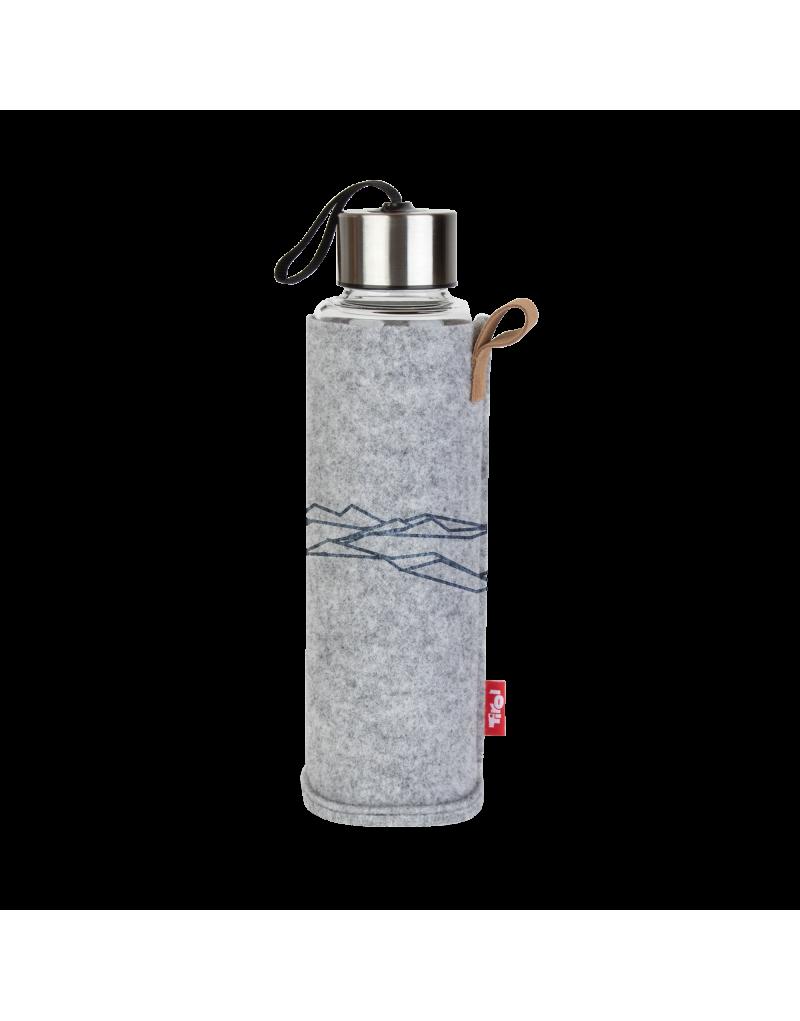 bietet optimalen Schutz für die Trinkflasche   einfach zu tragen dank praktischer Schlaufe   waschbar und einfach zu reinigen   hält dein Getränk bis zu zwei Stunden länger kalt oder warm