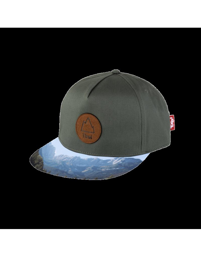 Cap aus 100% Baumwolle   verstärkte Frontpanele   Schweißband   bedrucktes Schild   flaches Schild   Größe: 58 cm ist verstellbar - Metallverschluss   Patsch in Lederoptik