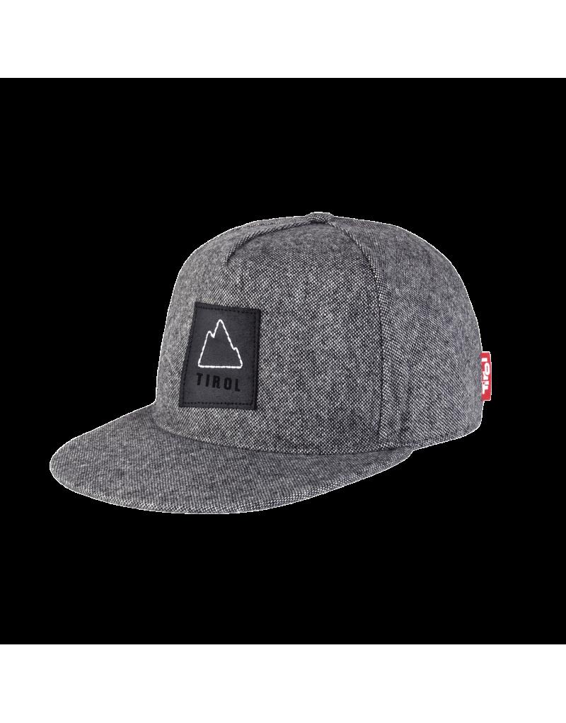 Truckercap aus 100% Baumwolle   mit verstärkter Frontpanele   flacher Schirm   Lederpatsch   Metallverschluss   Größe 58 cm